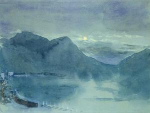 Lake Lugano by John Ruskin