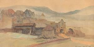 'Rheinfelden Bridge', 1858 by John Ruskin