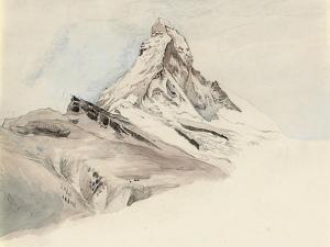 The Matterhorn, Switzerland, from the Northeast, 1849 by John Ruskin