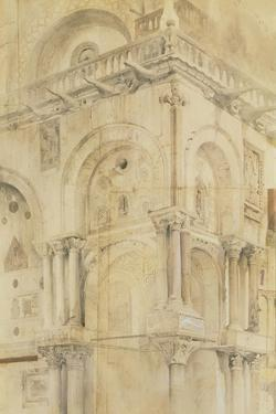 The North-West Angle of the Facade of St Mark'S, Venice by John Ruskin