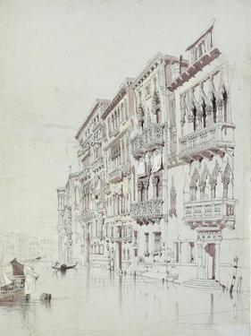 The Palazzo Contarini-Fasan by John Ruskin