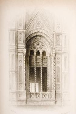 Tracery from the Campanile of Giotto, Florence, from 'The Seven Lamps of Architecture' by John… by John Ruskin