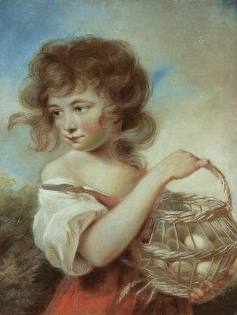 The Girl with a Basket of Eggs, C.1780