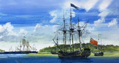 British Ship by John S. Smith