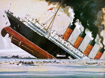 Sinking of the Lusitania by John S. Smith