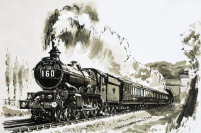 The Famous 4-6-0 Castle Class of Steam Locomotives Used by Great Western