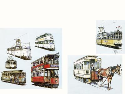 Trams by John S. Smith
