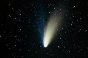 Comet Hale-Bopp by John Sanford