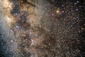 The Milky Way In the Constellation of Scorpius by John Sanford