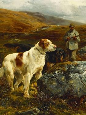 On the Moors by John Sargent Noble