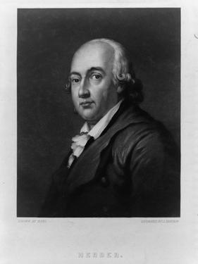 Portrait of Johann Gottfried Herder (1744-180), Between 1828 and 1880 by John Sartain