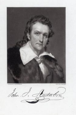 Portrait of John James Audubon by John Sartain