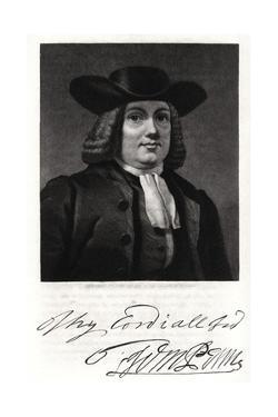 William Penn, 19th Century by John Sartain