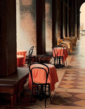 Cafe Arcade, Venice by John Scanlan