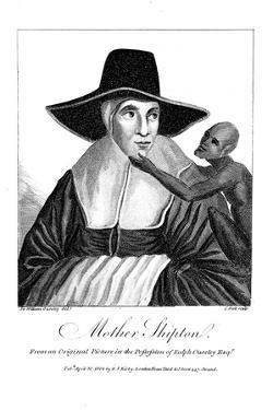 Mother Shipton (1488-C156) English Witch and Prophetess, 1804 by John Scott