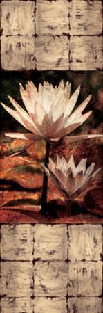Waterlily Panel II by John Seba