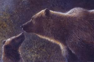 Seeking Attention (detail) by John Seerey-Lester