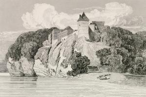 Castle at Tancarville, Published 1st October 1821 by John Sell Cotman