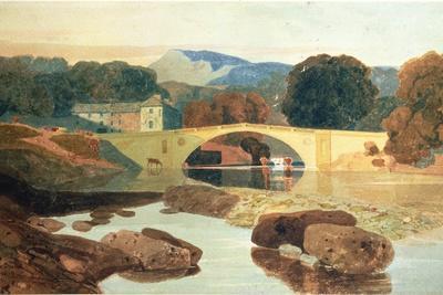 Greta Bridge, Yorkshire, 1810