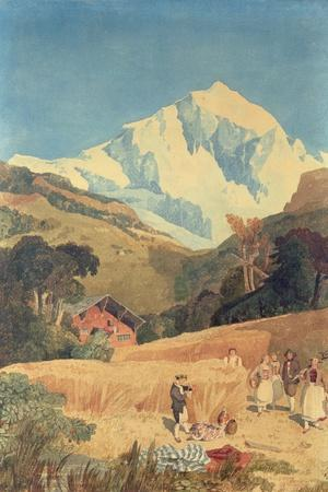 View of the Jungfrau-Horn, 1809