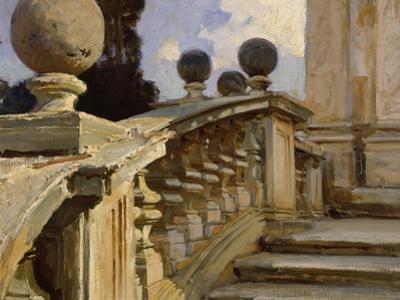 A Balustrade by John Singer Sargent