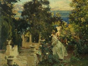 A Garden in Corfu, 1909 by John Singer Sargent