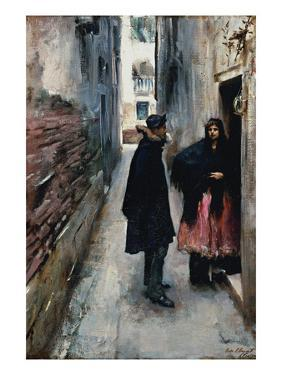 A Street in Venice by John Singer Sargent