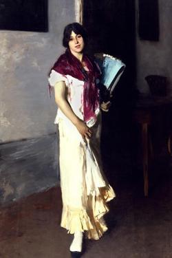 A Venetian Woman, 1882 by John Singer Sargent