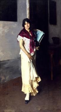 A Venetian Woman, 1882 by John Singer Sargent