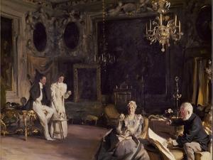 An Interior in Venice, 1899 by John Singer Sargent