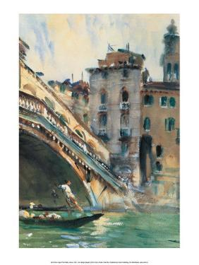 August, The Rialto, Venice, 1907 by John Singer Sargent