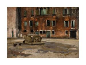 Campo S. Agnese, Venice, C.1890 by John Singer Sargent