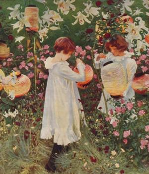 Carnation, Lily, Lily, Rose, 1885-86, (1938) by John Singer Sargent