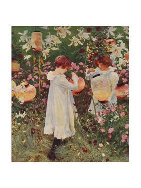 Carnation, Lily, Lily, Rose, 1885-86, (1938) by John Singer Sargent