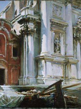 Church of St. Stae, Venice, 1913 by John Singer Sargent