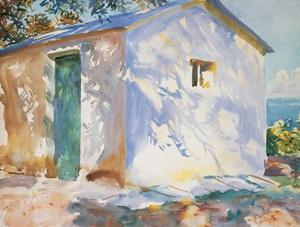 Corfu Lights and Shadows by John Singer Sargent