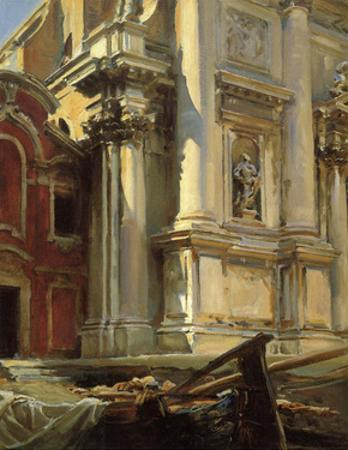 Corner of the Church of San Stae, Venice, 1913 by John Singer Sargent