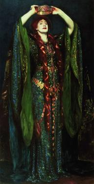 Ellen Terry in the Role of Lady MacBeth by John Singer Sargent