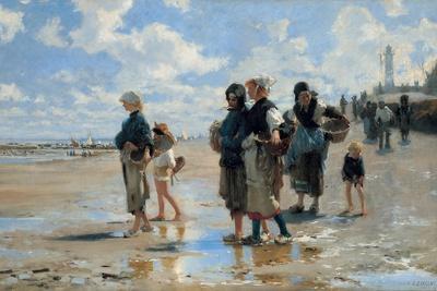 En route pour la pêche, or Setting Out to Fish, 1878