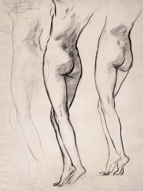 Female Nude by John Singer Sargent