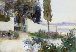 Gates of a Villa in Italy by John Singer Sargent