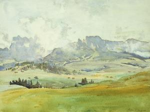 In the Dolomites, 1914 by John Singer Sargent