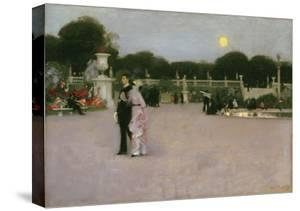 In the Luxembourg Gardens, 1879 by John Singer Sargent