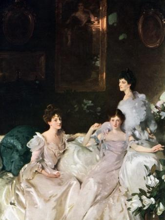Lady Elcho, Mrs Tennant and Mrs Adeane, 1926 by John Singer Sargent