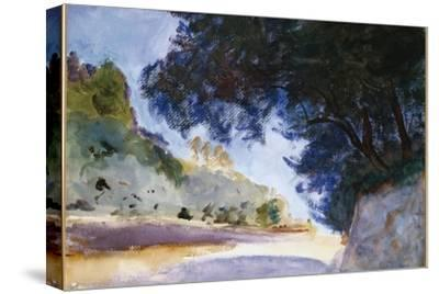 Landscape, Olive Trees, Corfu, 1909 by John Singer Sargent
