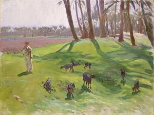 Landscape with Goatherd, 1890–91 by John Singer Sargent
