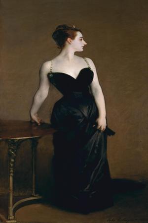 Madame X (Madame Pierre Gautreau), 1883-84, by John Singer Sargent