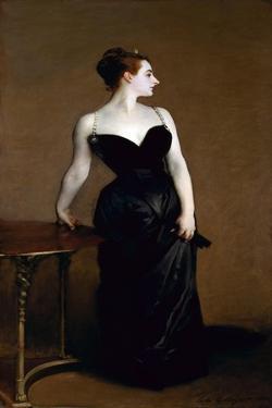 Madame X (Madame Pierre Gautreau) by John Singer Sargent by John Singer Sargent