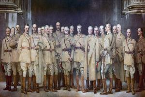 Military Officers of First World War by John Singer Sargent