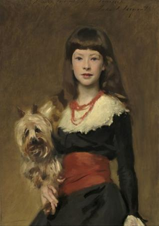 Miss Beatrice Townsend, 1882 by John Singer Sargent
